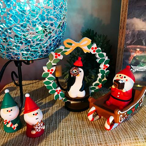 【思わず笑みが溢れるクリスマスマスコット】